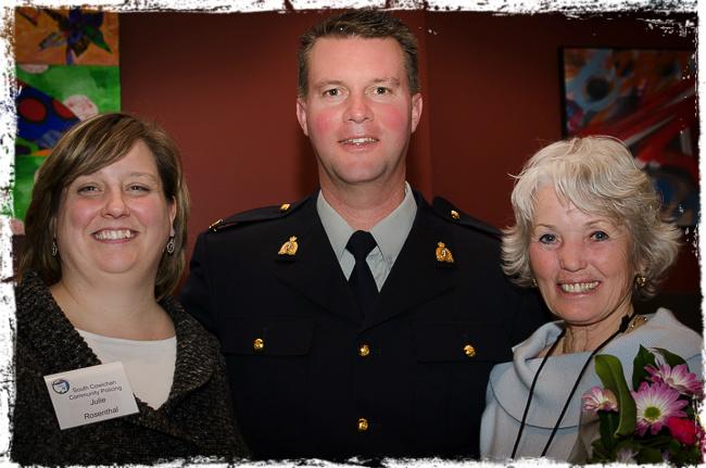 Julie Rosenthal, Sgt Rob Webb, Shirley Walker