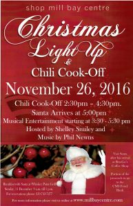christmas chili cook off mill bay