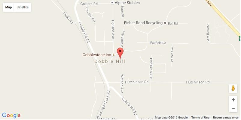 Map to Cobble Hill Fair