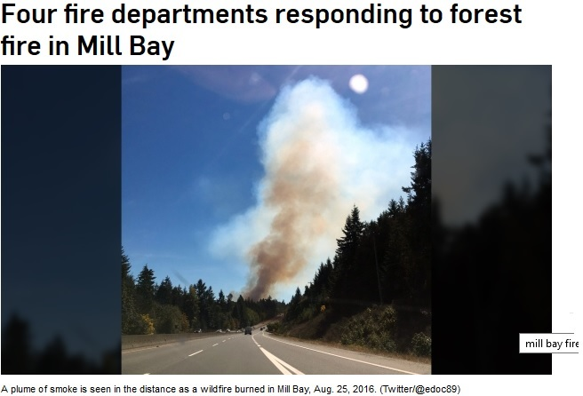 Mill Bay Fire