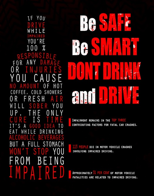 Don't Drink and Drive Impaired Kills
