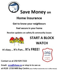 Block Watch Save on Home Insurance Neighbours Safety