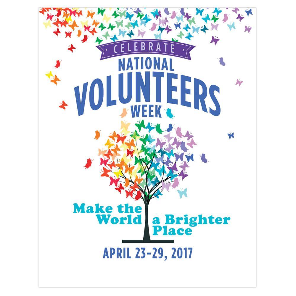 Poster design volunteer - Volunteer Appreciation Week