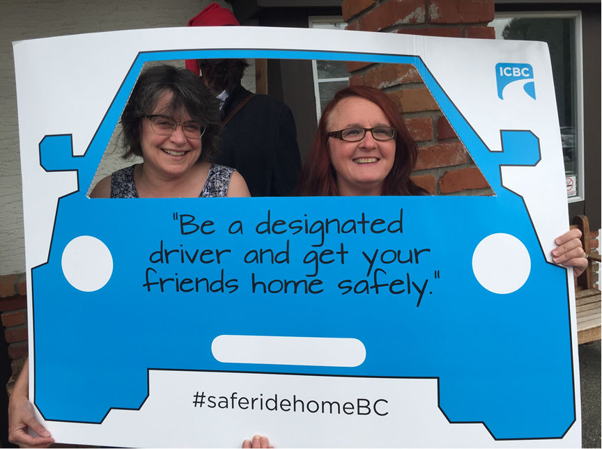 #saferidehomeBC