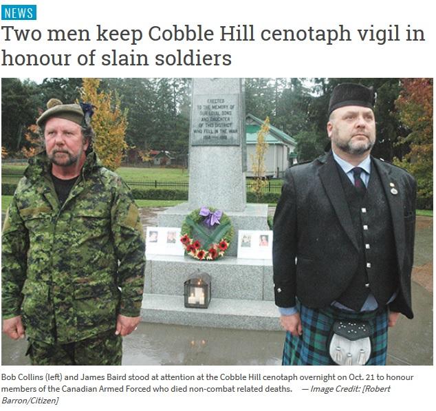 Oct 21 Bob Collins James Baird Remember
