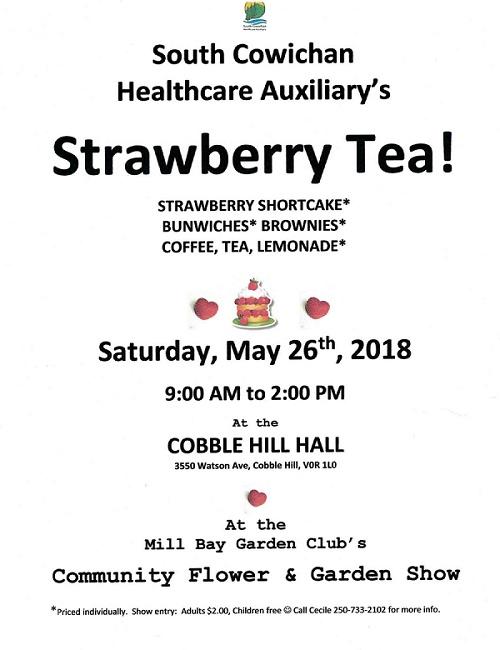 Strawberry Tea Healthcare Auxiliary