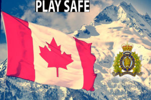 Play Safe RCMP Canada Day