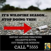 Cigarettes cause fires