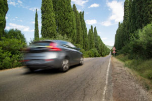 slow down while travelling