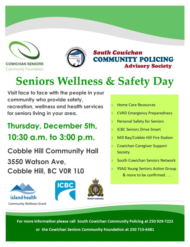 Seniors Wellness & Safety Day 2019